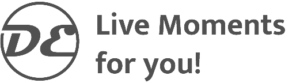 Logo DE Live Moments for you 2